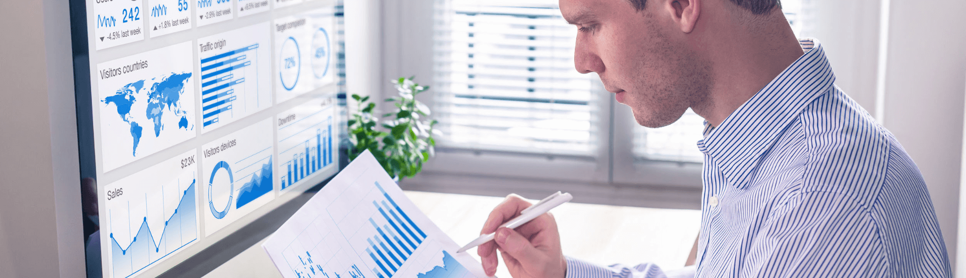 Mastersheet: Resultaat door Inzicht in Data. BI consultant, kpi, performance management, business intelligence, Qlik, PowerBI, Tableau